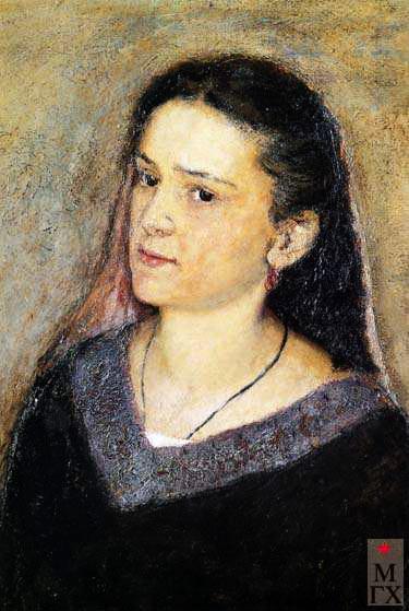 Портрет жены. 1948. (375x559, 54Kb)