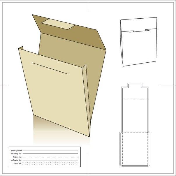 Как сделать из бумаги папку большую