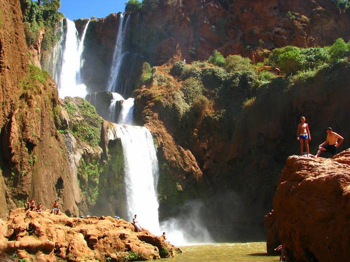Водопад Узуд– Покрывало влюбленных в Марокко. 17981
