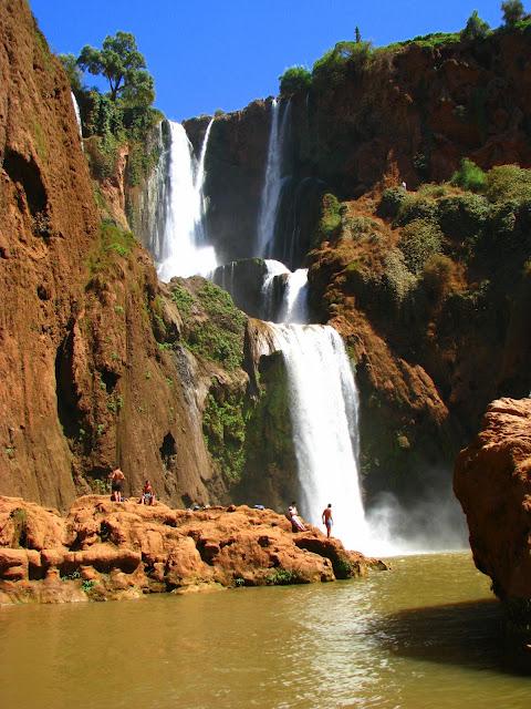 Водопад Узуд– Покрывало влюбленных в Марокко. 75153
