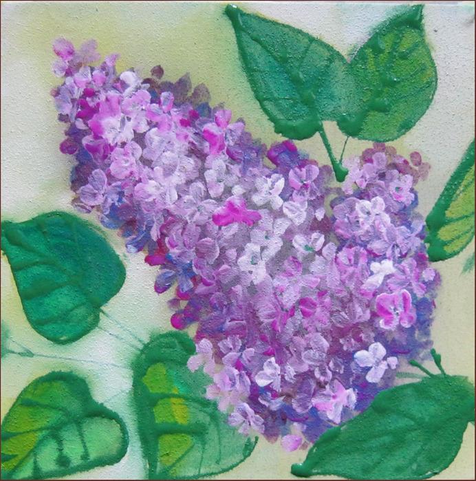 Цветы картинки нарисованные красками 7