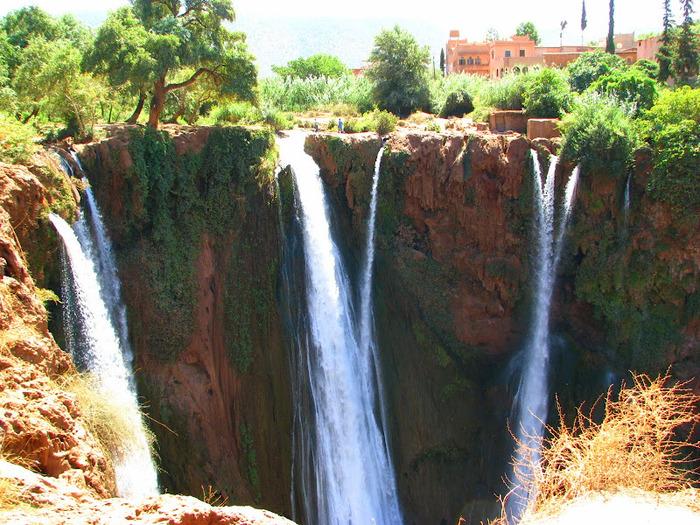 Водопад Узуд– Покрывало влюбленных в Марокко. 45233