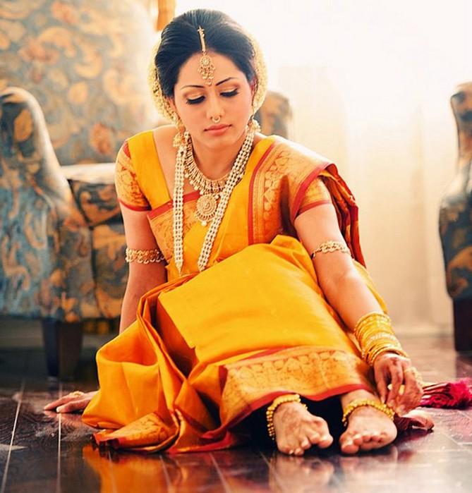 Портретные фото невест из Индии 5 (669x700, 107Kb)