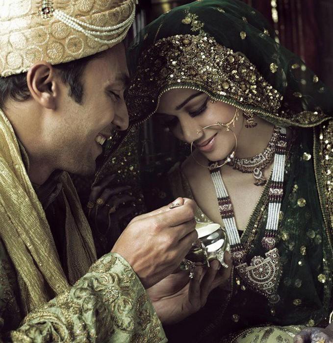 Портретные фото невест из Индии 6 (679x700, 155Kb)