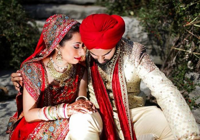 Портретные фото невест из Индии 15 (700x491, 119Kb)