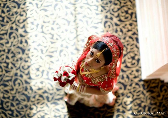 Портретные фото невест из Индии 20 (700x491, 88Kb)