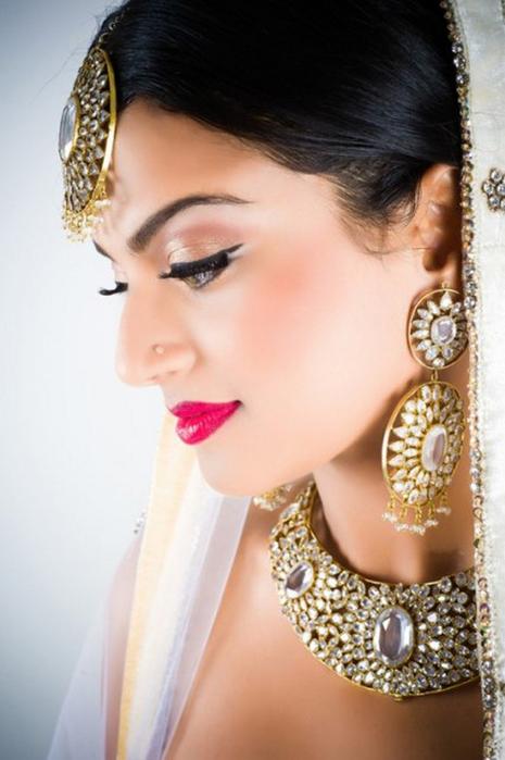Портретные фото невест из Индии 23 (465x700, 289Kb)