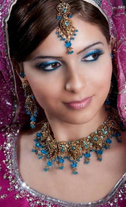 Портретные фото невест из Индии 28 (426x700, 343Kb)