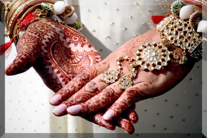 Портретные фото невест из Индии 32 (700x466, 97Kb)