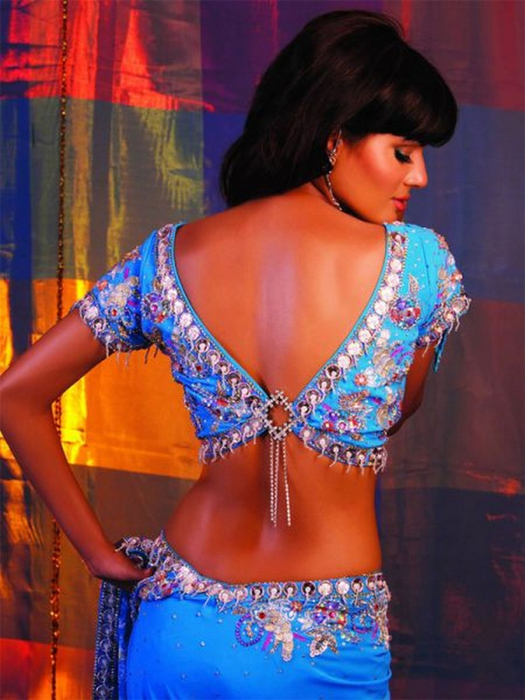 Портретные фото невест из Индии 34 (525x700, 404Kb)