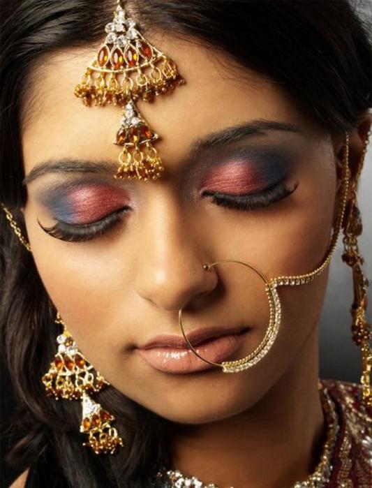 Портретные фото невест из Индии 43 (533x700, 353Kb)