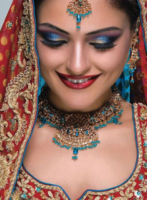 Портретные фото невест из Индии 44 (514x700, 433Kb)