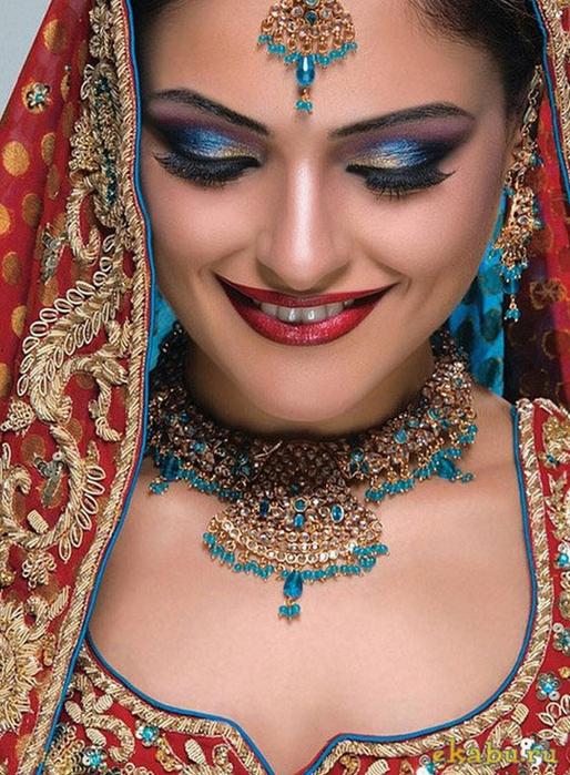 Портретные фото невест из Индии 63 (514x700, 473Kb)