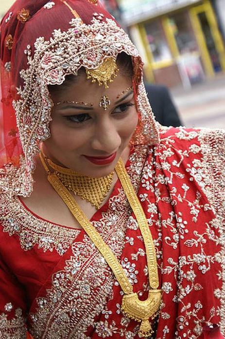 Портретные фото невест из Индии 67 (463x700, 458Kb)
