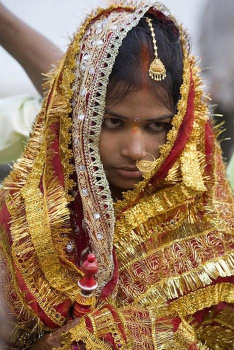 Портретные фото невест из Индии 70 (468x700, 473Kb)