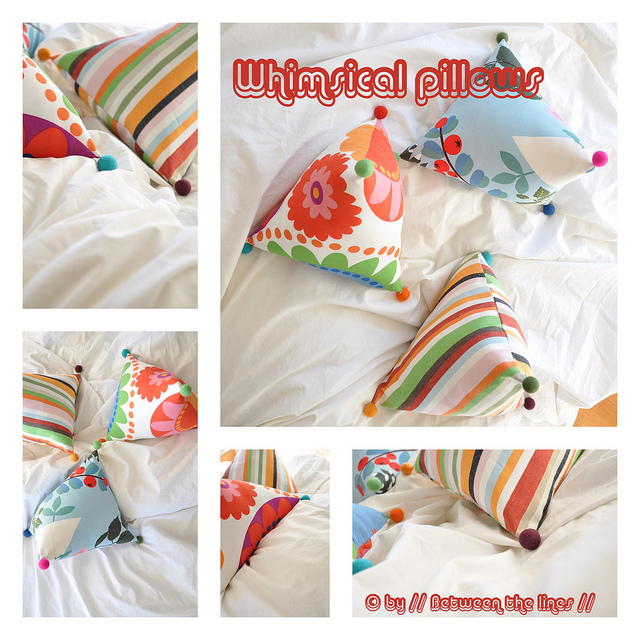 Декоративная подушка своими руками мастер класс