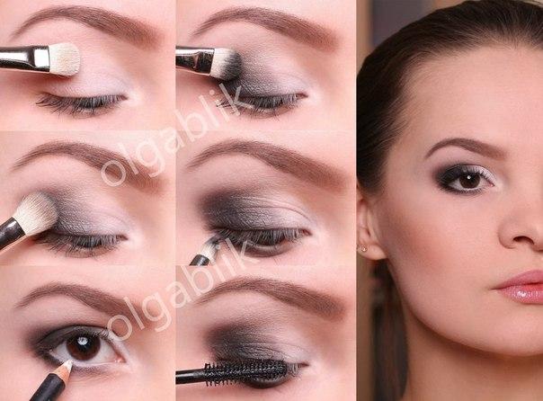макияж пошагово фото до и после