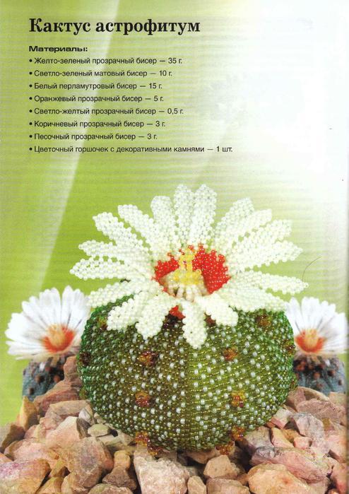Вирко Елена - Цветы из бисера. Комнатные и садовые(Беспроволочная техника плетения) 2011_56 (494x700, 68Kb)