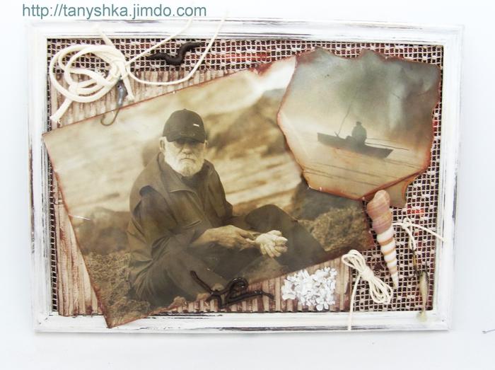 37. Нравится!  Захотелось мне сделать подарок любимому папе - старому рыбаку.  Но рыбачит он не на море...