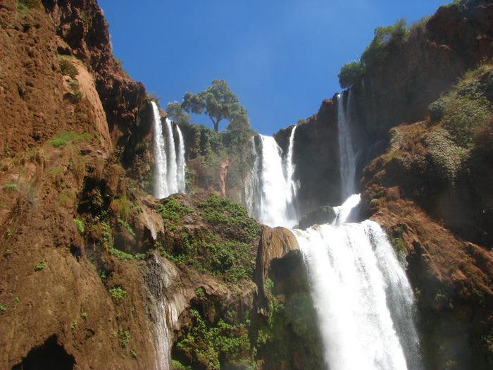 Водопад Узуд– Покрывало влюбленных в Марокко. 57357