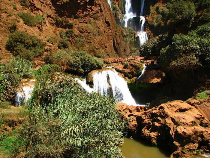 Водопад Узуд– Покрывало влюбленных в Марокко. 54632