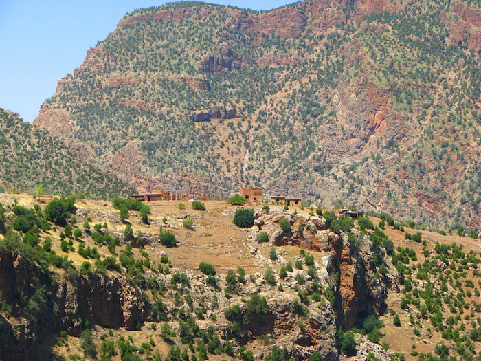 Водопад Узуд– Покрывало влюбленных в Марокко. 38017
