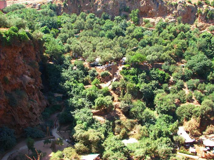 Водопад Узуд– Покрывало влюбленных в Марокко. 64052