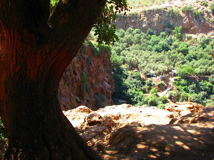 Водопад Узуд– Покрывало влюбленных в Марокко. 95384