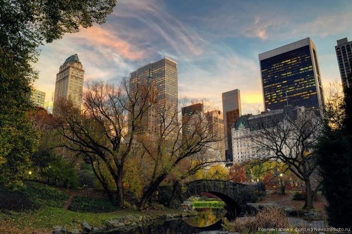 Городские пейзажи Нью-Йорка на фото Эндрю Мейса (Andrew Mace)  1 (700x464, 124Kb)