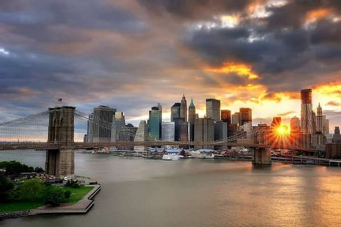 Городские пейзажи Нью-Йорка на фото Эндрю Мейса (Andrew Mace)  5 (700x465, 73Kb)