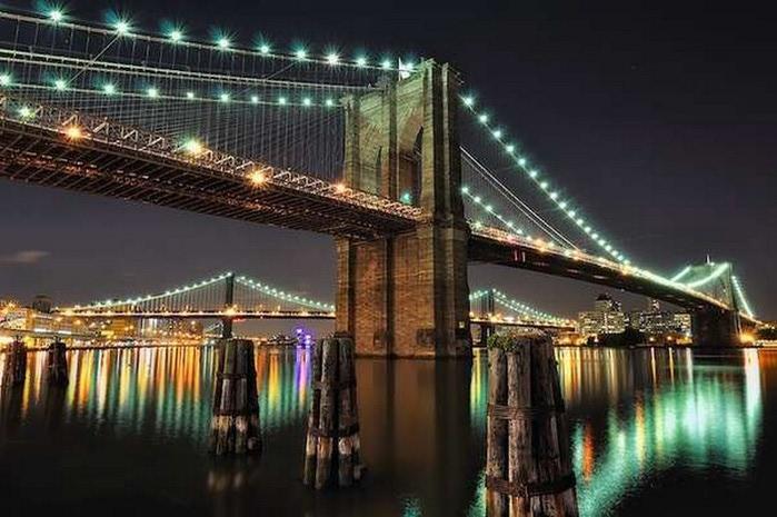 Городские пейзажи Нью-Йорка на фото Эндрю Мейса (Andrew Mace)  9 (700x465, 93Kb)