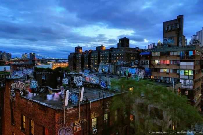 Городские пейзажи Нью-Йорка на фото Эндрю Мейса (Andrew Mace)  12 (700x466, 107Kb)