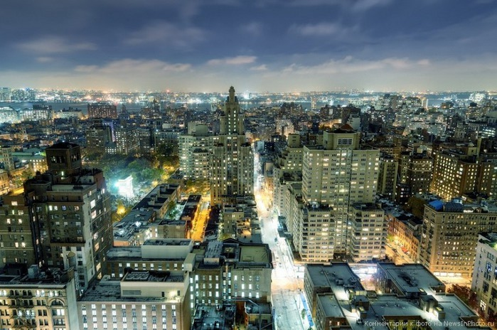 Городские пейзажи Нью-Йорка на фото Эндрю Мейса (Andrew Mace)  20 (700x464, 129Kb)