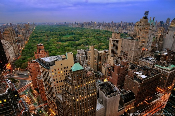 Городские пейзажи Нью-Йорка на фото Эндрю Мейса (Andrew Mace)  22 (700x464, 134Kb)