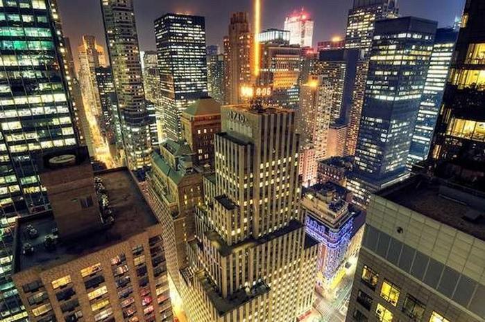 Городские пейзажи Нью-Йорка на фото Эндрю Мейса (Andrew Mace)  24 (700x465, 144Kb)