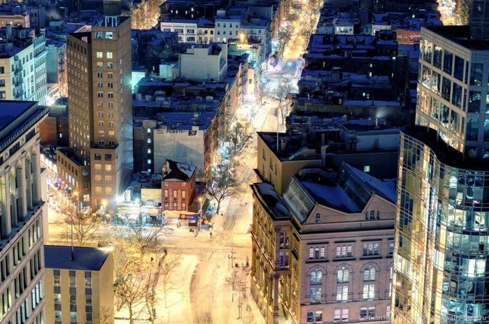 Городские пейзажи Нью-Йорка на фото Эндрю Мейса (Andrew Mace)  26 (700x464, 144Kb)