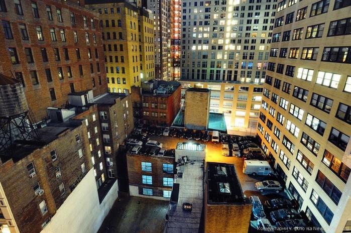 Городские пейзажи нью йорка на фото