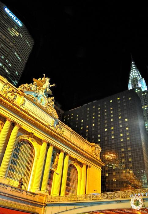 Городские пейзажи Нью-Йорка на фото Эндрю Мейса (Andrew Mace)  38 (484x700, 388Kb)