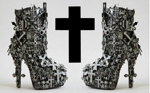 готическая обувь,обувь стим панк (500x311, 55Kb)