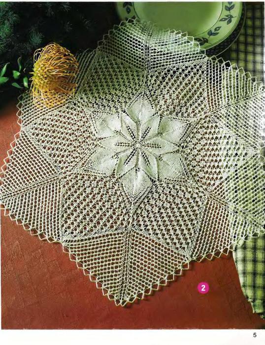 DIANA Маленькая 2003-00 Специальный выпуск - Ажурное вязание на спицах_5 (538x700, 123Kb)