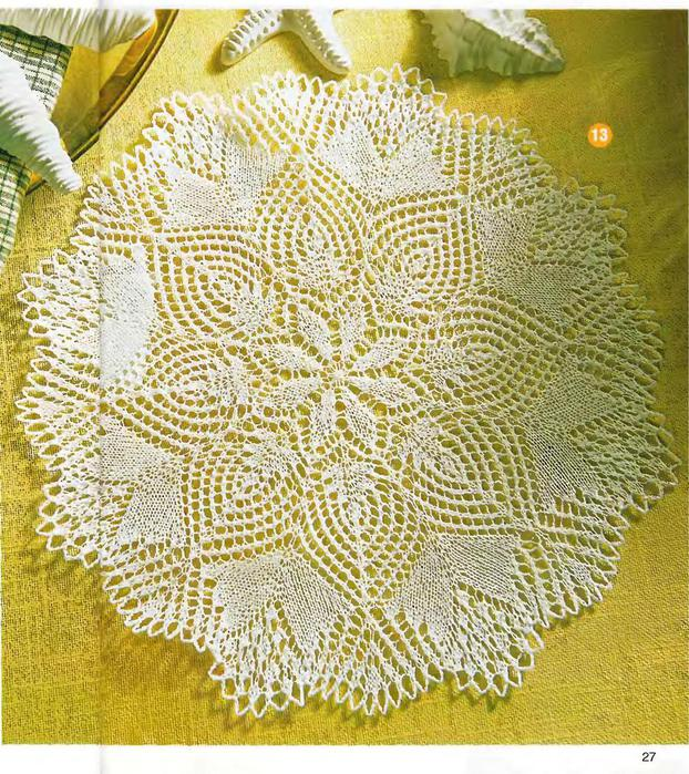 DIANA Маленькая 2003-00 Специальный выпуск - Ажурное вязание на спицах_27 (622x700, 140Kb)