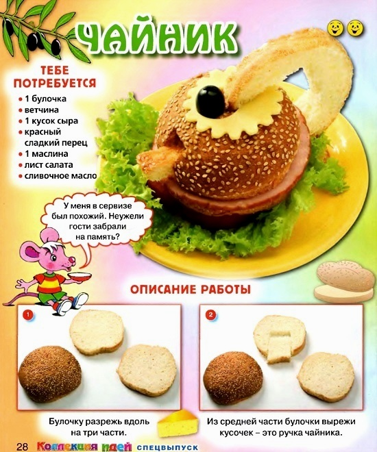 Детские кулинарные рецепты с фото
