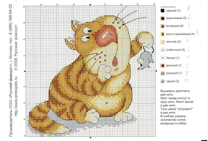 рыжий кот (700x475, 123Kb)