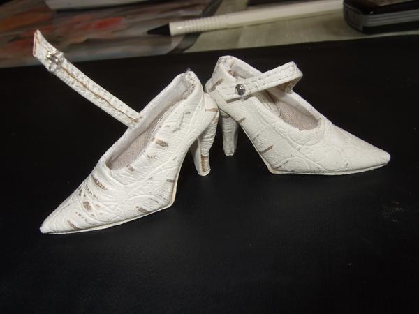 Пинетки.  МК по кукольной обуви.