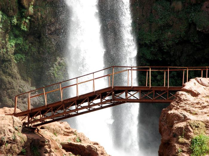 Водопад Узуд– Покрывало влюбленных в Марокко. 94677