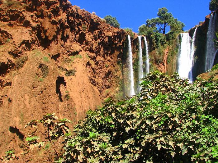 Водопад Узуд– Покрывало влюбленных в Марокко. 94234