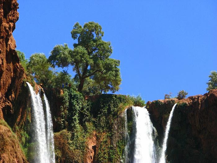 Водопад Узуд– Покрывало влюбленных в Марокко. 25003