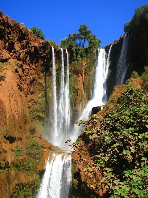 Водопад Узуд– Покрывало влюбленных в Марокко. 68079
