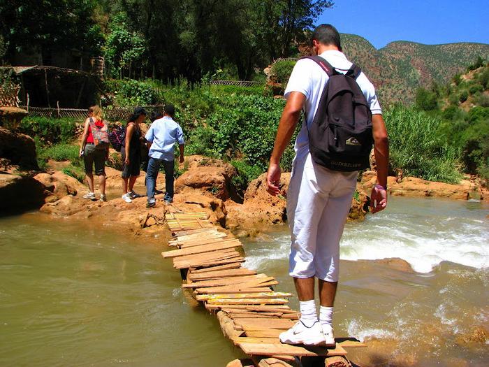 Водопад Узуд– Покрывало влюбленных в Марокко. 81747