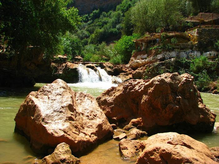 Водопад Узуд– Покрывало влюбленных в Марокко. 48951